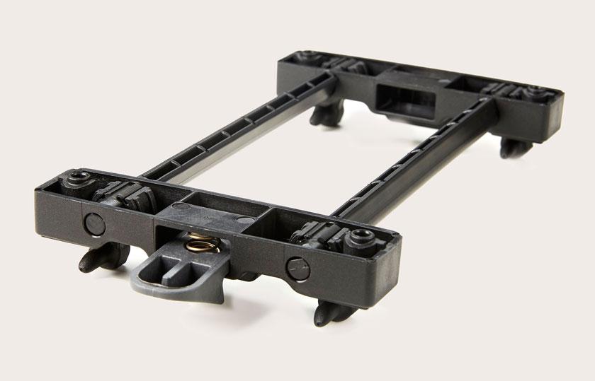 Doubleit Baskit Trunk Hinterradkorb Snapit-système